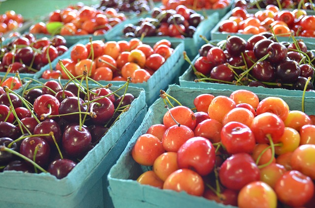 laguna beach farmers market a saturday morning tradition cherries at the farmers market